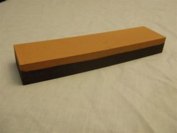 "1"" X 2"" X 8"" India Sharpening Stone is coarse on one side and fine on the other"