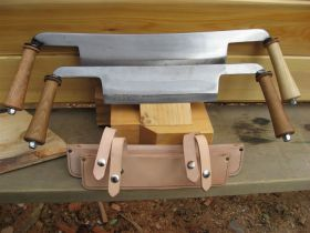 "Timber Tools 12"" and 9"" Draw Knife"