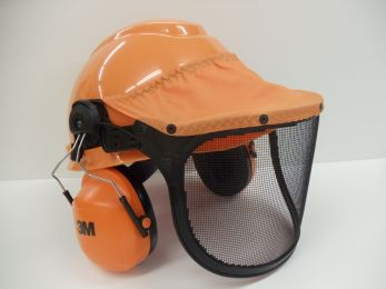 Chainsaw Safety Hard Hat System by 3M