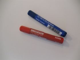Red or Blue Lumber Crayon