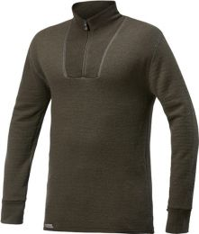 Woolpower Turtleneck Shirt with Short Zipper 400